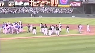 Download Barry Bonds and a brawl at Candlestick Park in 1993 Video