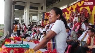 Download World Indigenous People's Day Celebration Khumulwng II Patal kanya Jamatia II Video