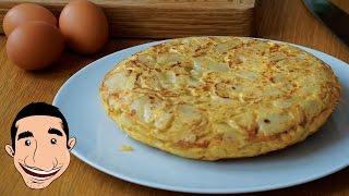Download MOUTHWATERING SPANISH OMELETTE   How to Make Potato Omelette   Tortilla De Patatas Española Video