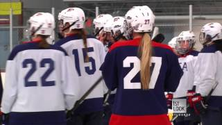Download On The Ice With The U.S. Women's Hockey Team (Part 1) Video