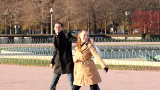 Download Flash Mob Proposal in Buckingham Fountain, You'll Love her Expression! Video