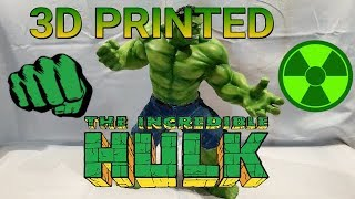 Download 3D Printed 15'' Hulk [Time-Lapse] AirBrush+Jeans | Now ARTFX Statue Video