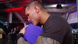 Download #PeaceDay: John Cena and Randy Orton share a hug backstage: Raw, November 22, 2010 Video