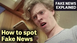 Download How To Spot Fake News – FAKE NEWS EXPLAINED Video
