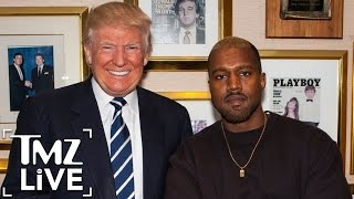 Download KANYE WEST'S Meeting with DONALD TRUMP   TMZ Live Video