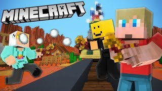 Download Playing Paintball with FANS - Minecraft Video