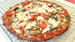 Download The Best Cauliflower Pizza Crust Recipe That Won't Fall Apart Video