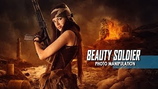 Photoshop Tutorial Create Action Movie Poster With Light