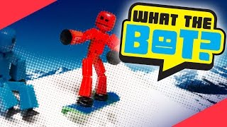 Download What the Bot? 💩 | Snowboard Vs. Skateboard Video