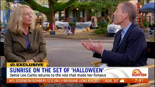 Download Halloween 2018 preview on Sunrise TV with Jamie Lee Curtis Video