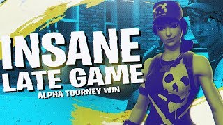Download DOMINATING THE ALPHA TOURNAMENT! 15 KILL WIN (Fortnite BR Full Match) Video