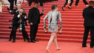 Download Kristen Stewart In Chanel At Cannes 2018 Red Carpet Video