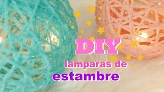 Download DIY lampara de estambre, decora tu espacio favorito, fácil y divertido! Video
