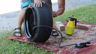 Download How to mount tires by hand Video