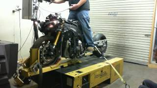Download 234 hp Turbo Charged 2009 Yamaha R1 Being Dynoed at Stedman Motorsports Video