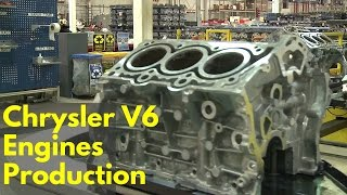 Download Chrysler V6 Engines Production Video