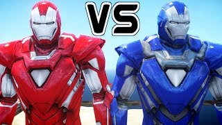Download IRON MAN VS IRON MAN - Silver Centurion vs Blue Steel Video