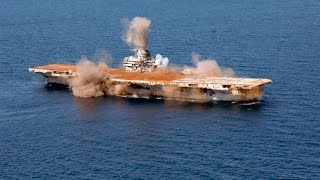 Download USS Oriskany Sunk and becomes Artificial Reef Video