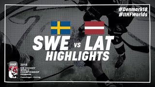 Download Game Highlights: Sweden vs Latvia May 17 2018 | #IIHFWorlds 2018 Video