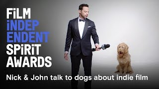 Download Nick Kroll & John Mulaney talk to dogs about movies | Watch the 2018 Spirit Awards March 3 Video