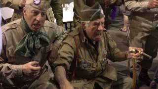 Download WWII Vet Vince ″Nuts!″ Speranza singing with WWII ADT Class 2016-03. Video