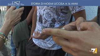 Download La7 - Storia di Noemi, uccisa a 16 anni - L'Aria che tira Video