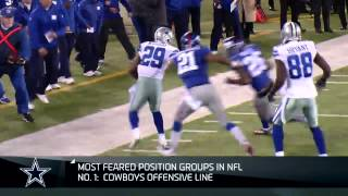 Download Top 10 scariest position groups: Cowboys' offensive line Video