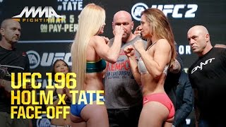 Download UFC 196 Weigh-Ins: Holly Holm vs. Miesha Tate Video