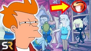 Download All The Simpsons And Futurama Easter Eggs In Netflix's Disenchantment Video
