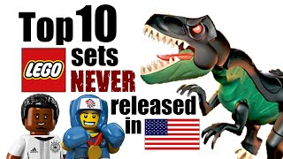 Download Top 10 LEGO Sets NEVER Released in the United States! Video