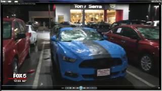 Download Cars destroyed at Alabama dealership in hail storm Video