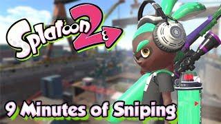 Download Splatoon 2 - 9 minutes of Crazy Sniping! (SplatterScope Gameplay) Video