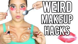 Download 13 WEIRD MakeUp Hacks that Actually Work! Video