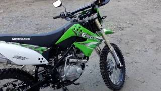 Download Кроссовый мотоцикл Motoland DEFENDER 150 Video