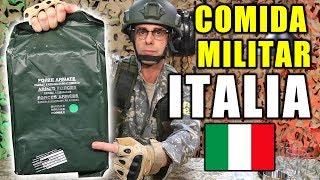 Download Probando COMIDA DE SUPERVIVENCIA MILITAR de ITALIA Video