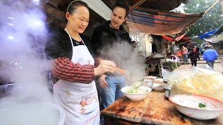 Download Chinese Street Food Tour in Chongqing, China | BEST Alleyway Food in China Video