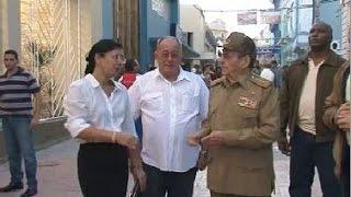 Download Recorre Raúl Castro ciudad de Santiago de Cuba y dialoga con el pueblo Video