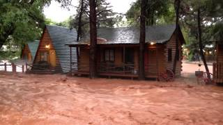 Download West side flooding in Colorado Springs Video