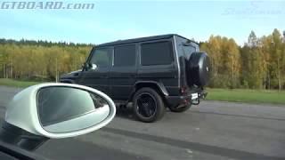 Download [4k] 570 HP Mercedes-AMG G63 vs 350 HP Porsche 718 Boxster S Video