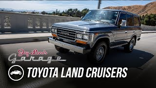 Download Late 80's Toyota Land Cruisers - Jay Leno's Garage Video