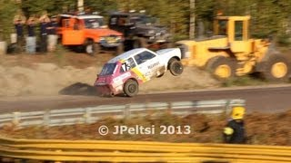 Download Fiat 133 wheelie at Jokkis team race 8.9.2013 Video