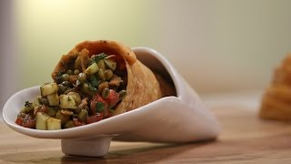 Download Cone Chaat   Snacky Ideas by Amisha Doshi   Sanjeev Kapoor Khazana Video