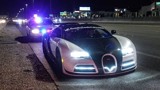 Download NEVADA STATE POLICE PULLOVER BUGATTI FOR 200 MPH HIGHWAY PULL Video