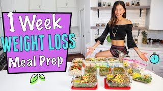 Download 1 WEEK VEGAN WEIGHT LOSS MEAL PREP in 1 hr. Video