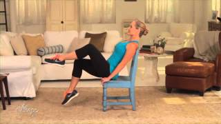Download Easy Chair Exercises to Tone Your Abs and Belly Video