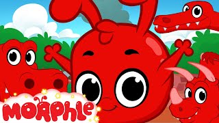 Download Morphle and the Dinosaurs (+1 hour funny Morphle kids videos compilation with cars, trucks, bus etc) Video