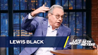 Download Lewis Black on Donald Trump and Election News Coverage Video