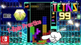 Download Nintendo Switch Tetris 99 T-Spin Practice Battle Royale Gameplay First Place Video