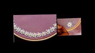 Download Boat Neck | Hand embroidery stitch on churidar / Kurti - DIY - decorative stitches Video