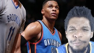 Download 100% PROOF WHY WESTBROOK IS MVP! THUNDER vs NETS HIGHLIGHTS REACTION! Video